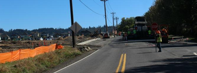 Bethany Road Construction