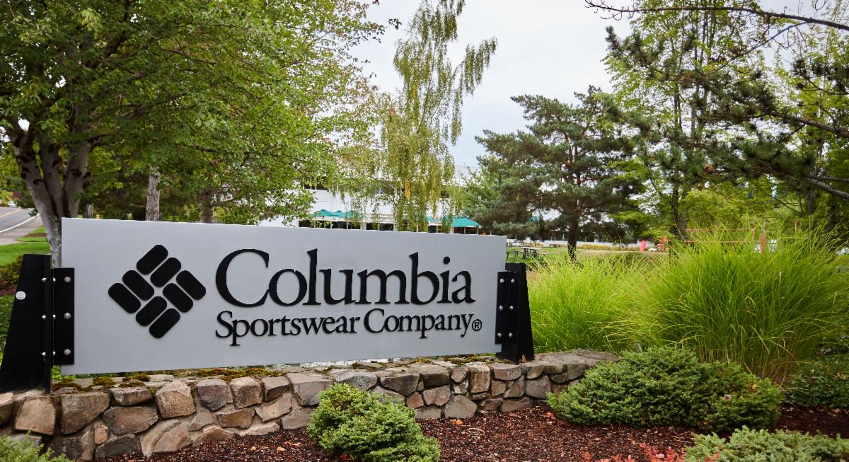 Columbia Sportswear sign