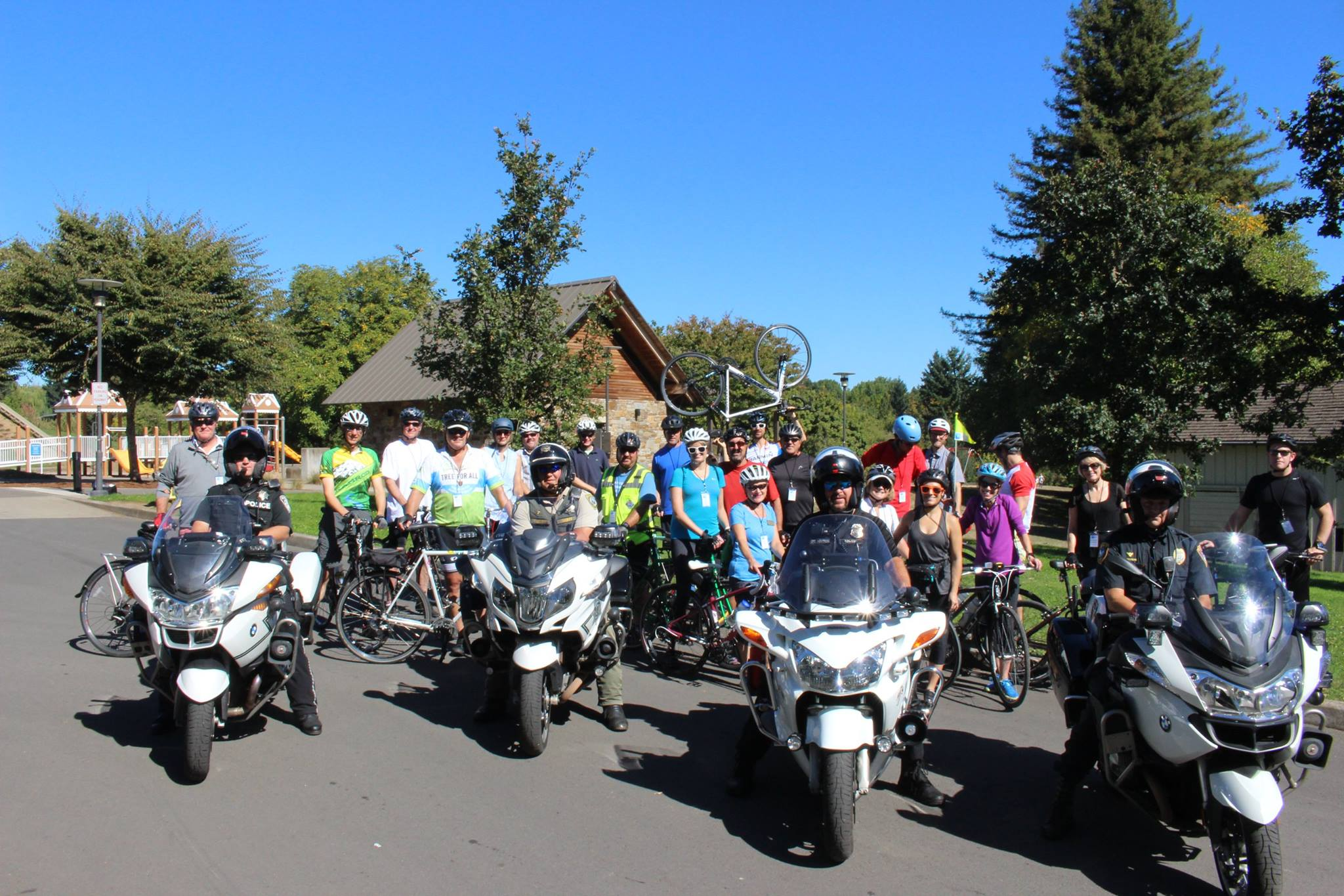 Economic Development Bike Tour Group Shot 2017