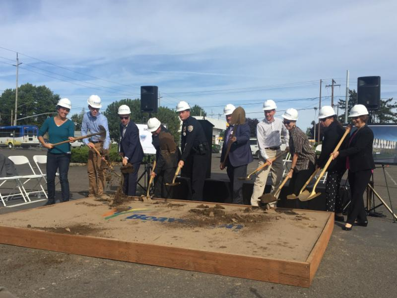 Ground Breaking Beaverton Safety Center