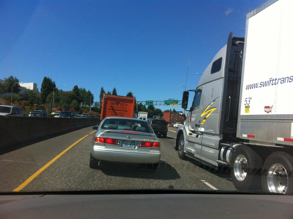 Truck Traffic I5 North