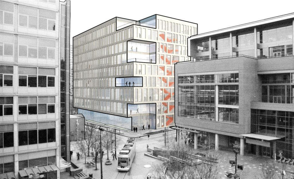 Rendition of new OHSU PSU School of Public Health