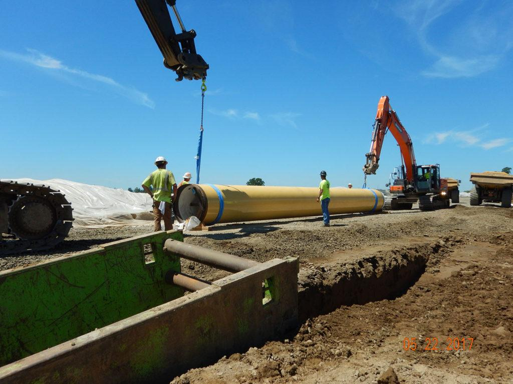 Willamette Water Supply Program Pipe