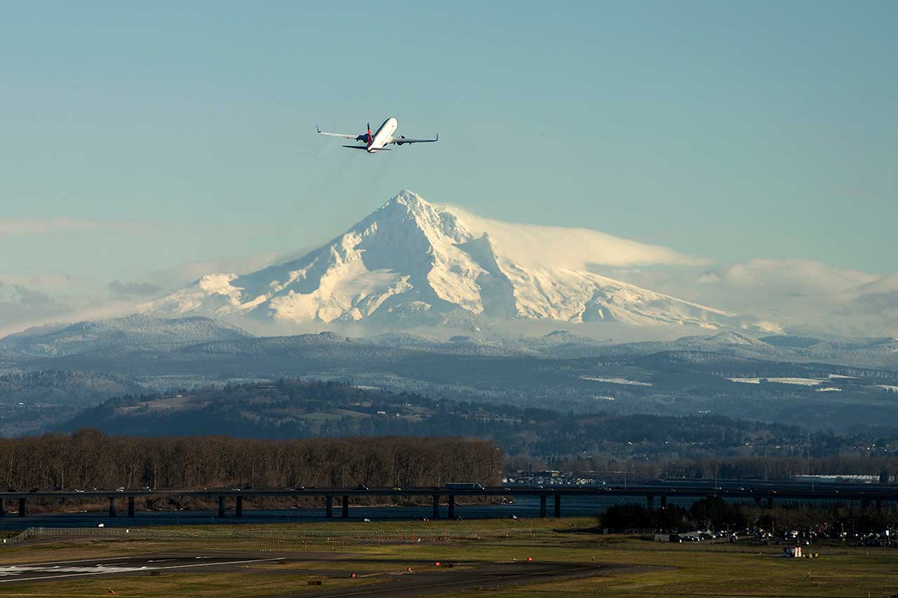 pdx delta take off
